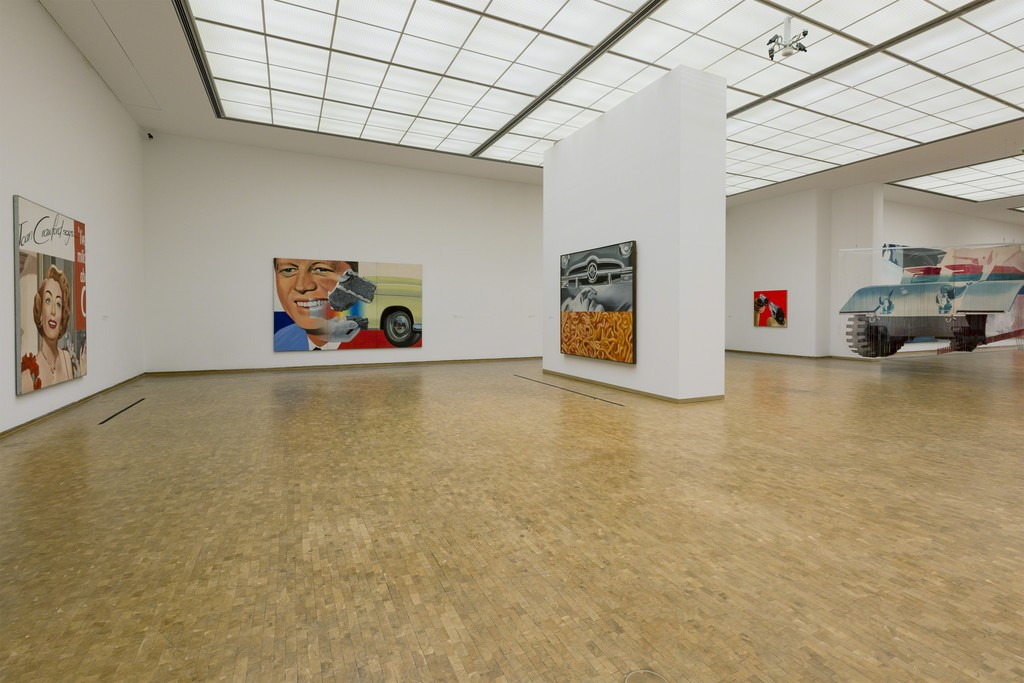 "Installation view ""James Rosenquist: Painting as Immersion"", Museum Ludwig, Cologne, Photo: Rheinisches Bildarchiv Köln, Cologne/ Rico Burgmann"