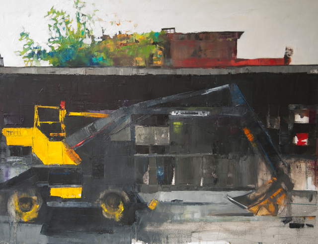 , 'The End of Gansevoort Street,' 2016, Susan Eley Fine Art