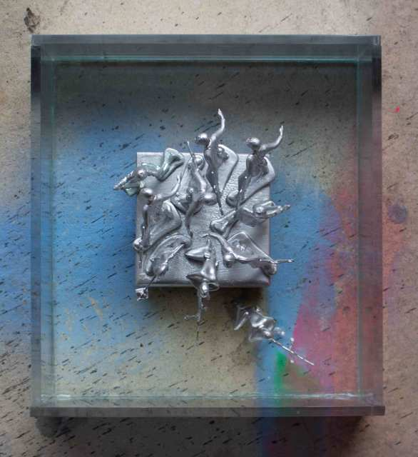 , 'Men In The Mirror,' 2018, InLiquid
