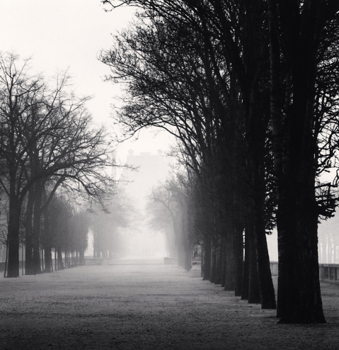 Michael Kenna, 'Tuileries Gardens, Study II, Paris, France', 1987, Photography, Weston Gallery
