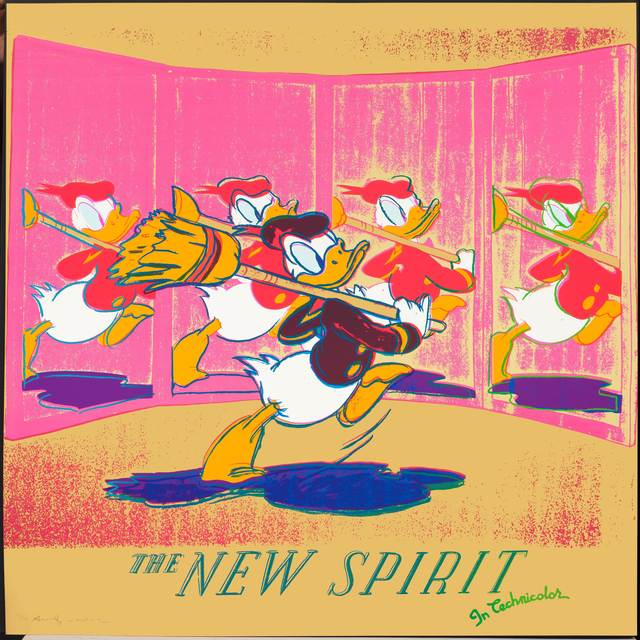Andy Warhol, 'The new spirit (Donald Duck)', 1985, Koller Auctions