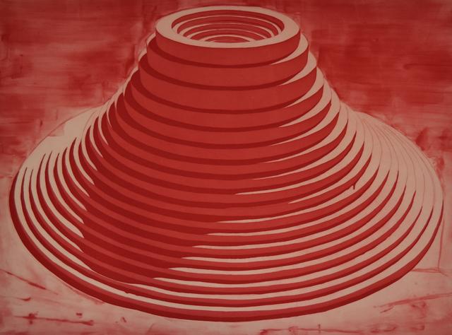 , 'Vulcano 1,' 2016, Galería La Caja Negra