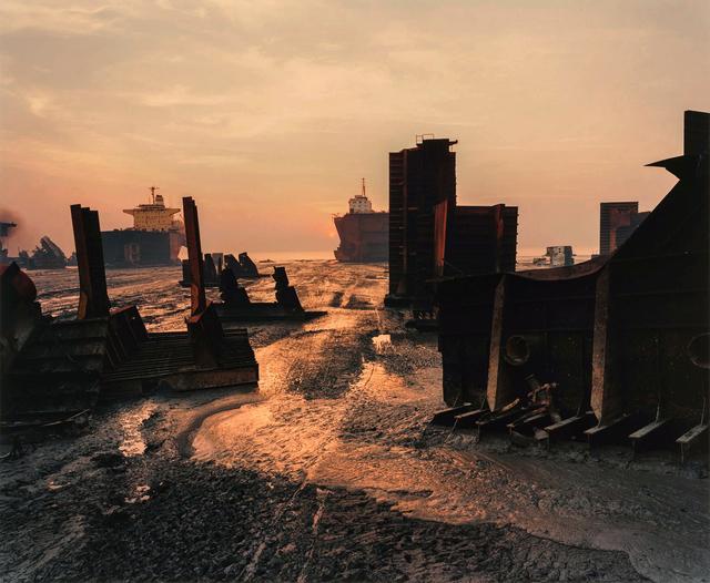 Edward Burtynsky, 'Shipbreaking #13, Chittagong, Bangladesh', 2000, Photography, Chromogenic print, Robert Koch Gallery