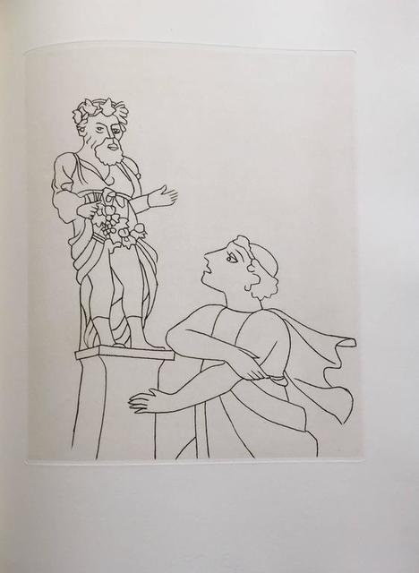 André Derain, 'Etching from Le Satyricon', 20th Century, Lions Gallery