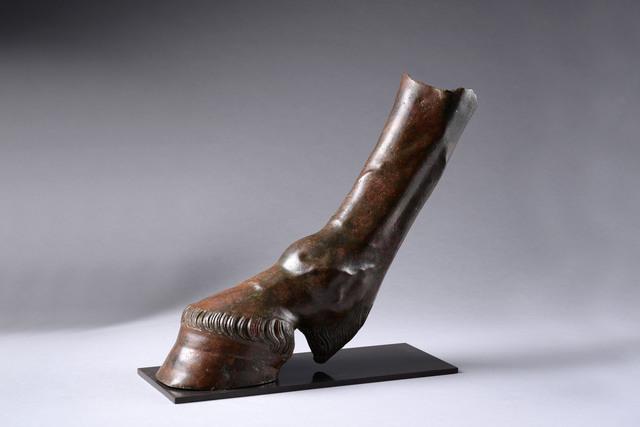 , 'Fragment of a Life-size Bronze Equestrian Statue,' 0-200, ArtAncient