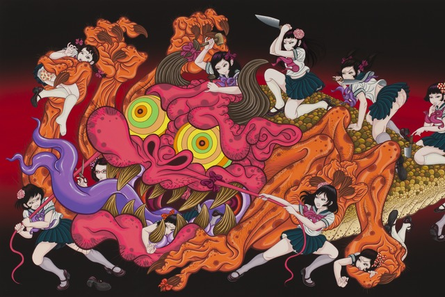 , 'Monster and Twenty one girls,' 2015, Gallery Tsubaki