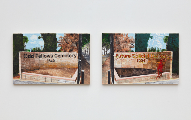 , 'ODD FELLOWS CEMETERY/FUTURE SPECIAL DELIVERY ,' 2016, Klowden Mann