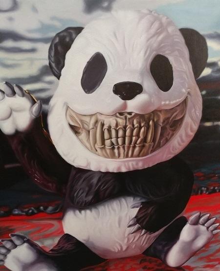 , 'Panda Grin,' 2019, Eternity Gallery