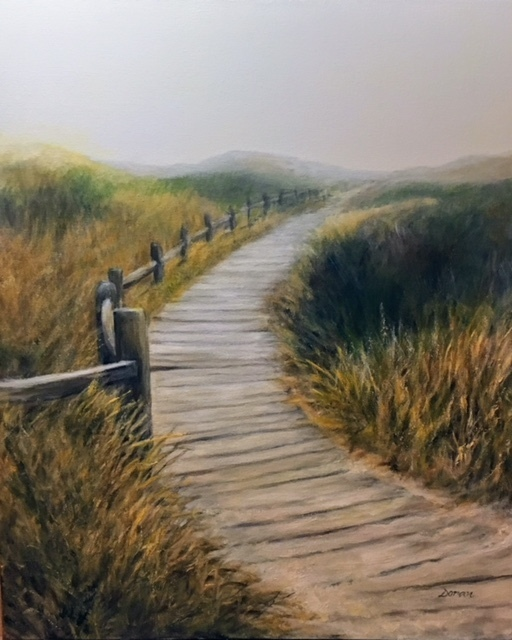 , 'Early Fog in the Dunes,' , Peninsula Gallery