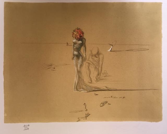 Salvador Dalí, 'Femme à la tête de fleurs', ca. 1980, ByNewArt