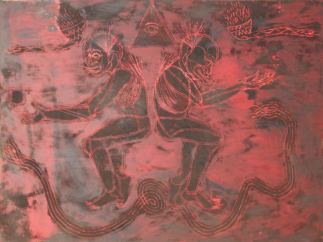 Jose Angel Santiago, 'Sahumadores, El ritual de la serpiente ', 2017, Galería Quetzalli