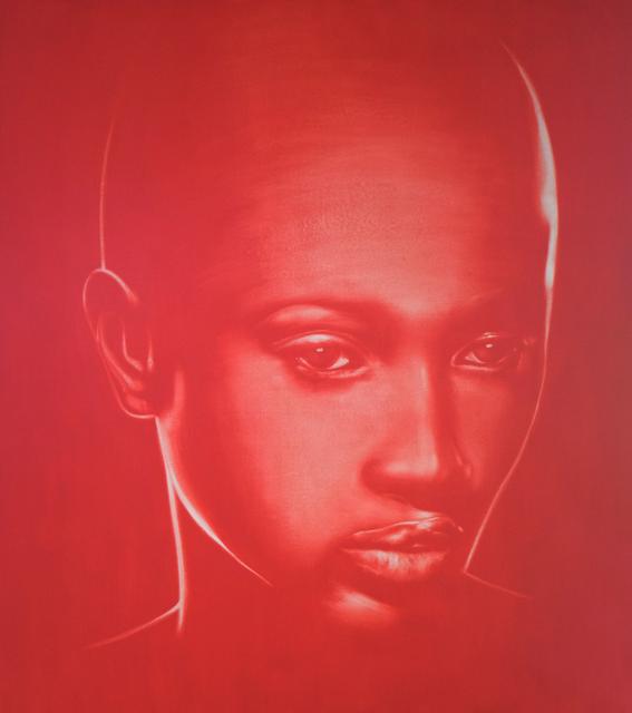 , 'Rojo 3/4 perfil / Red profile 3/4,' , Artflow Galeria