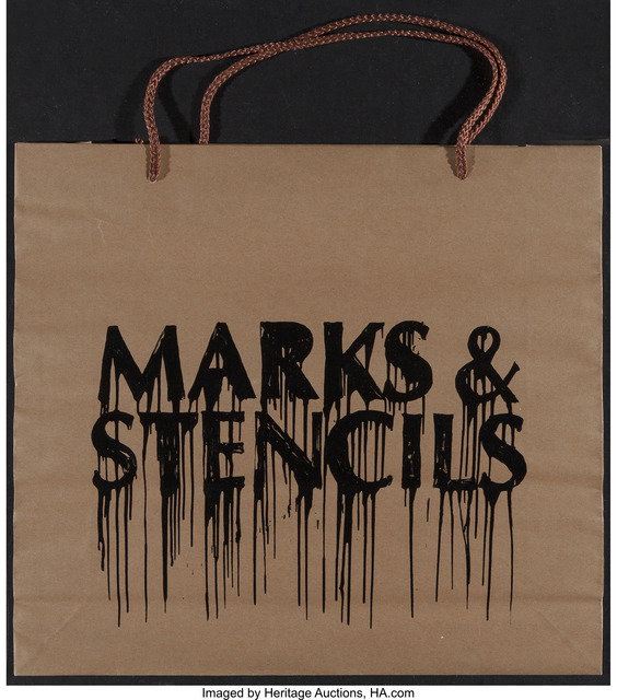 Banksy, 'Marks and Stencils', 2010, Heritage Auctions