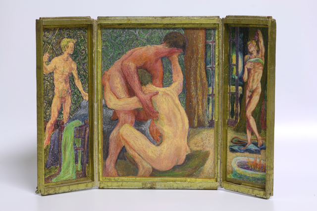 , 'Erotic Triptych: Lovers III,' 1969, Anglim Gilbert Gallery