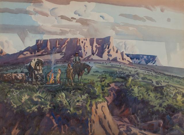 , 'Gilbert's Camp,' ca. 1941, WOLFS