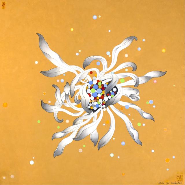 Kate Oh, 'Chrysanthemum Series (Orange)', 2017, Kate Oh Gallery