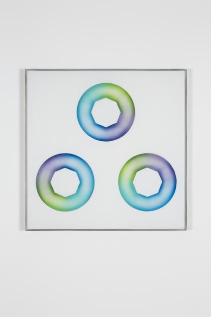 , 'Green-blue Star Cunts,' 1969, Jessica Silverman Gallery