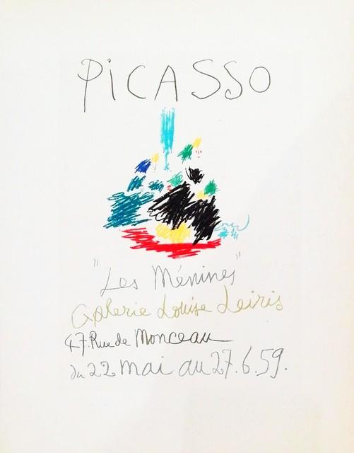 Pablo Picasso, 'Les Menines, 1959', 1959, Hidden