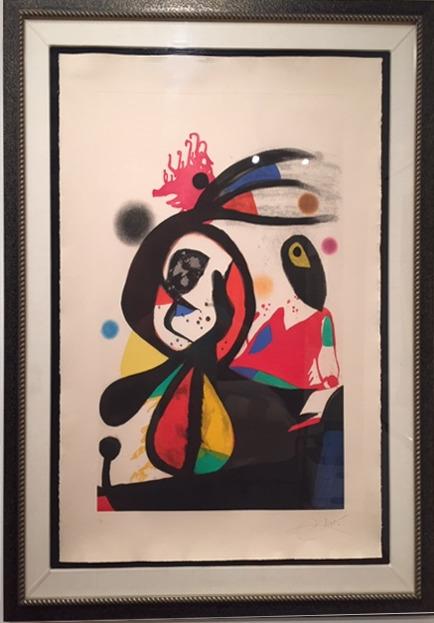 Joan Miró, 'L'Aigrette.Roug', 1976, ArtSpace / Virginia Miller Galleries