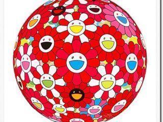 Takashi Murakami, 'Flowerball (3D) - Papyrus', Ode to Art