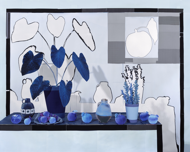 , 'Apples and Apricots in Blue ,' 2018, James Fuentes