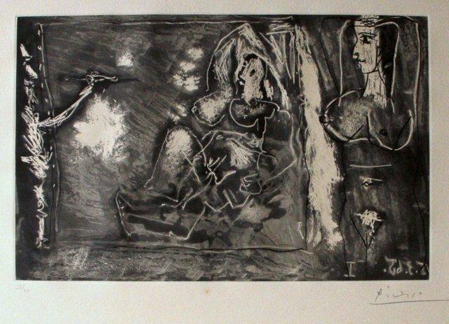 Pablo Picasso, 'Dans l'Atelier', 1965, Wallector