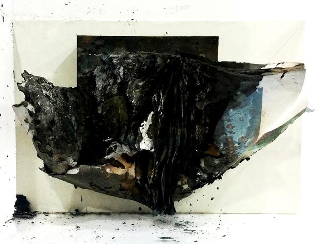 , 'Burned Book 2015-30 ,' 2015, EGG Gallery