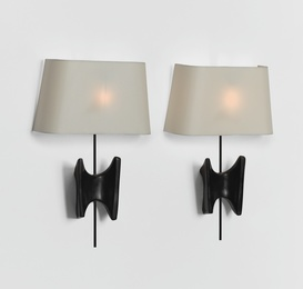"""Pair of """"Papillon"""" Wall Sconces"""