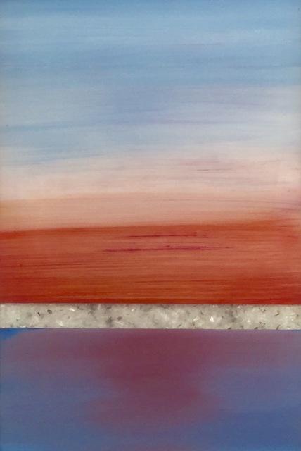 Arica Hilton, 'Serenity VIII', 2017, Painting, Acrylic on Acrylic with Recycled Plastic, Hilton Asmus
