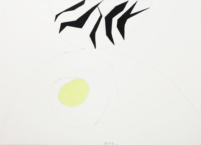 , '100/41a Nicolas Born (Hasensprung),' 2018, Häusler Contemporary