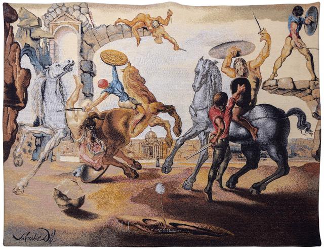 Salvador Dalí, 'Battle Around a Dandelion', 1988, Heather James Gallery Auction
