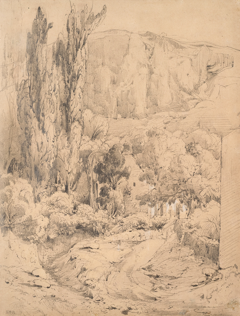 , 'Landscape in the Auvergne,' ca. 1830, Jill Newhouse Gallery