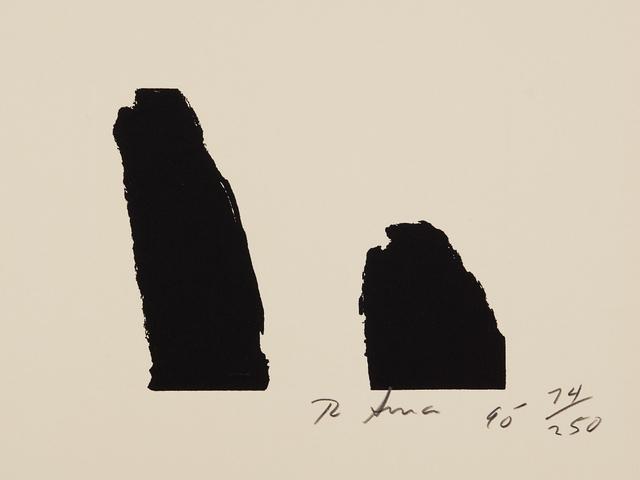 Richard Serra, 'Fuck Helms, from Harvey Gantt', 1990, Phillips