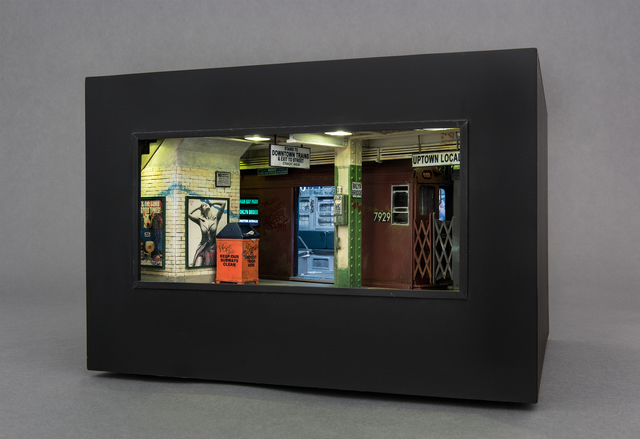 , 'Brooklyn Bridge Station,' 2008, Hollis Taggart Galleries