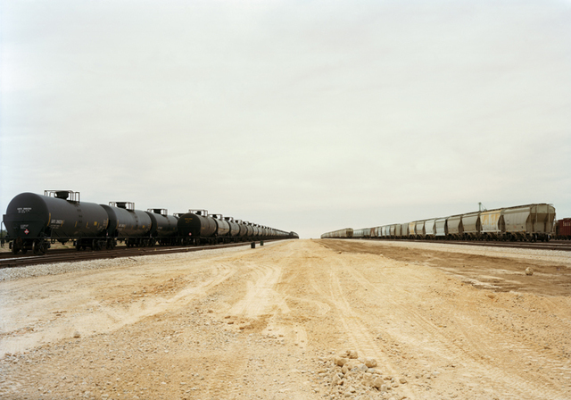 , 'Untitled (Parallel Cars) near Cotulla, Texas, 2012,' 2015, Yancey Richardson Gallery