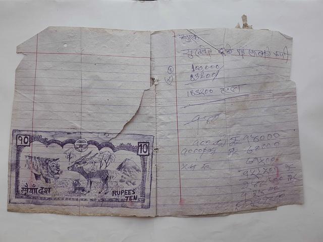 , 'Nepal Diary 2,' 2012, Powen Gallery