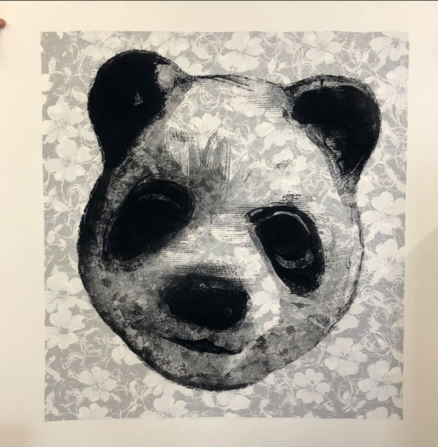 , 'Flocked Panda Head 22,' 2018, Jealous Gallery