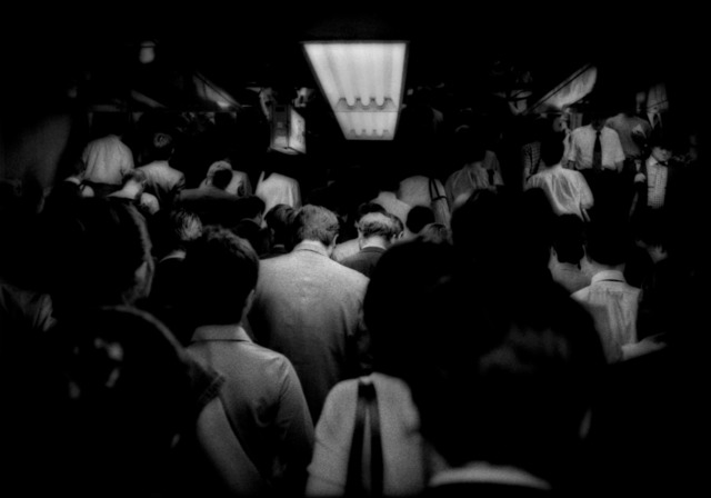 , 'Relentless flow of Tokyo commuters up to the subway, Japan,' 2005, Sous Les Etoiles Gallery
