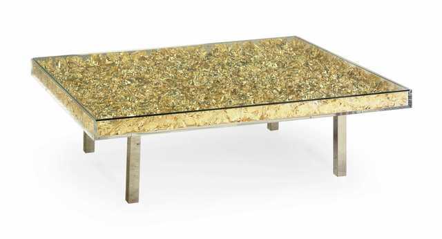 Yves Klein, 'Monogold table', 2019, Galerie Diane de Polignac & Chazournes