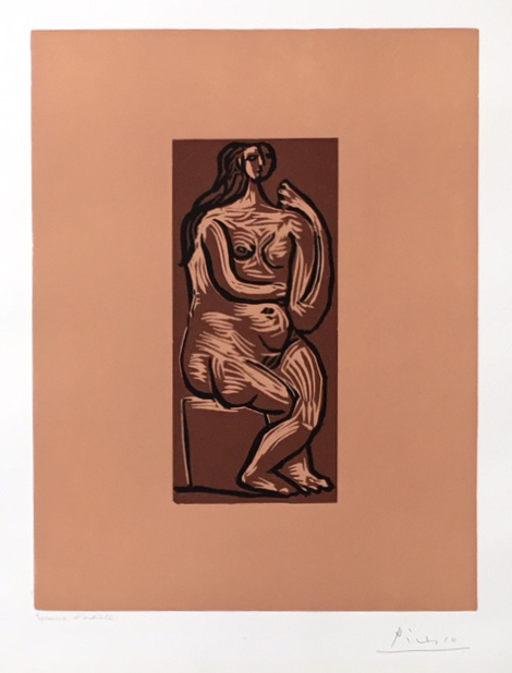 , 'Seated Nude [Nu assis],' 1962, Dellasposa