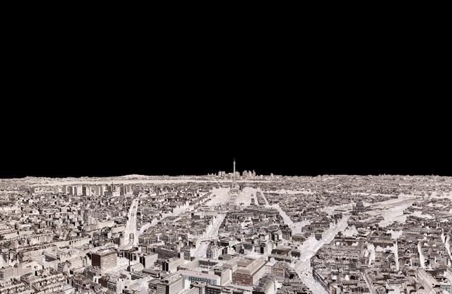 , 'Paris, Eiffel Tower, La Defense 2014 (Within Series),' 2014, Holden Luntz Gallery