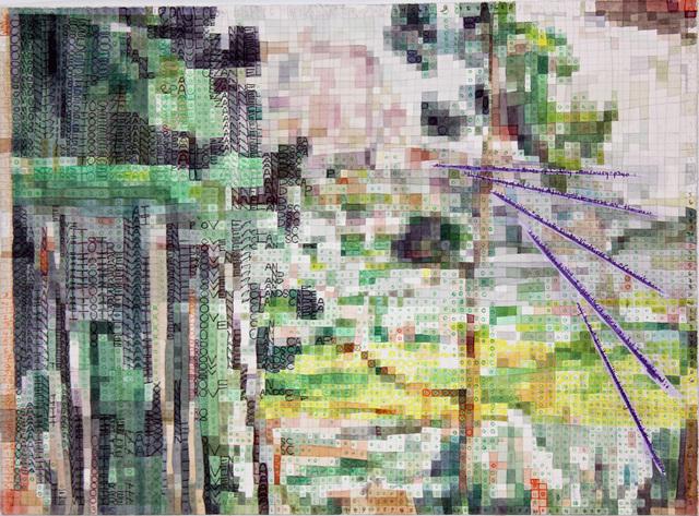 , 'landscapeascezanneasmuse,' 2018, Federico Luger (FL GALLERY)