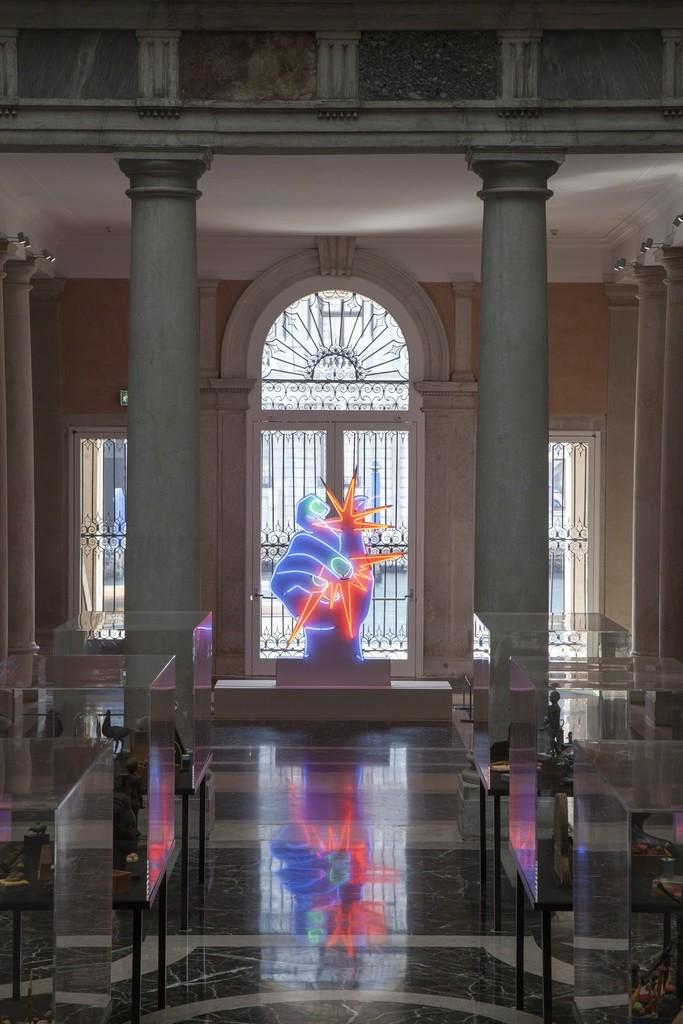 Martial Raysse, America America, 1964 Centre Pompidou - Musée national d'art moderne, Paris Installation view at Palazzo Grassi 2015 Ph : © Fulvio Orsenigo © Martial Raysse by SIAE 2015