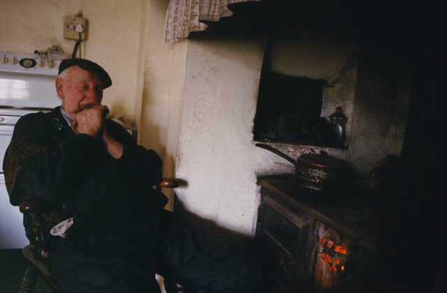 , 'Eric Wortley by the Stove, Norfolk,' 2005, Osborne Samuel