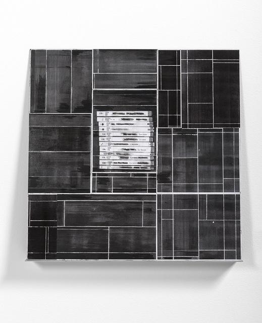 Catalina Mejia, 'De la serie Poemas visuales - Les mots', 2015, Plecto Espacio de Arte Contemporáneo