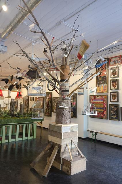Chris Roberts-Antieau, 'Birds of Prey Tree', 2015, Antieau Gallery