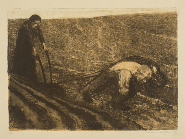 , 'Plowmen and Woman,' 1902, Galerie St. Etienne