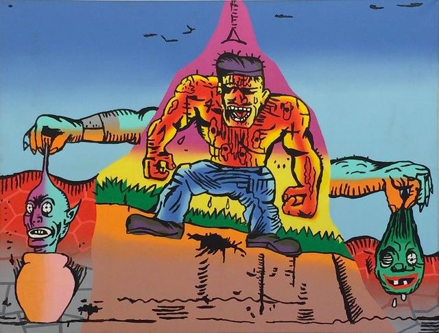 , 'Untitled (Muscle Man),' 1988, Fredericks & Freiser