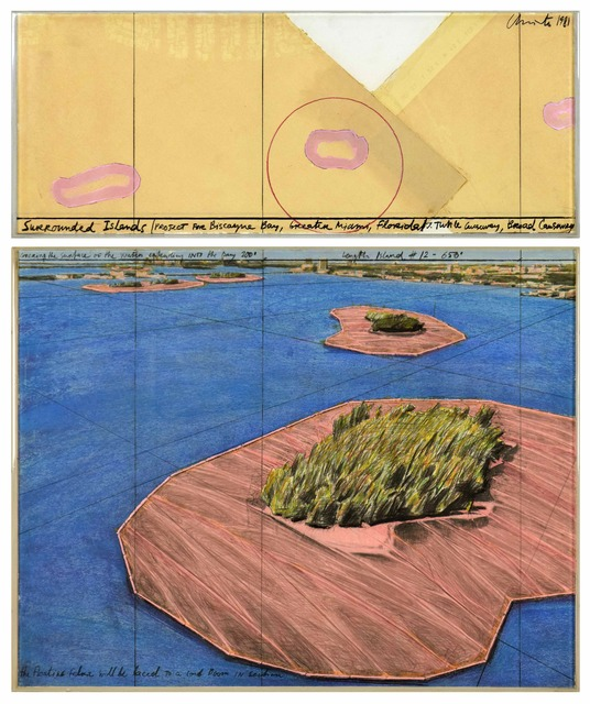 , 'Surrounded Islands (Project for Biscayne Bay, Greater Miami, Florida),' 1981, Stern Pissarro