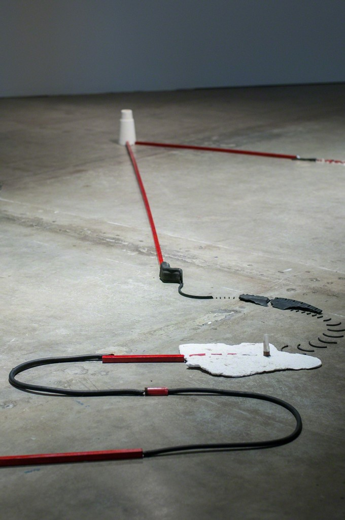 MPA, Long Line, 2015. THE INTERVIEW: Red, Red Future, Contemporary Arts Museum Houston, Houston, TX, 2016. Courtesy the artist and Contemporary Arts Museum Houston. Photo: Max Fields.